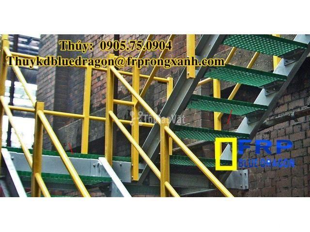 Sàn frp grating kháng hóa chất, sàn ô lưới loại isophthalic, vinyl - 1/6