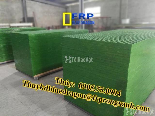 Sàn frp grating kháng hóa chất, sàn ô lưới loại isophthalic, vinyl - 2/6