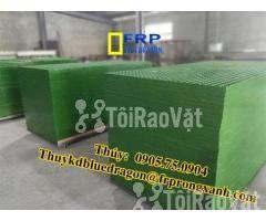 Sàn frp grating kháng hóa chất, sàn ô lưới loại isophthalic, vinyl - Hình ảnh 2/6