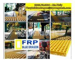 Sàn frp grating kháng hóa chất, sàn ô lưới loại isophthalic, vinyl - Hình ảnh 3/6