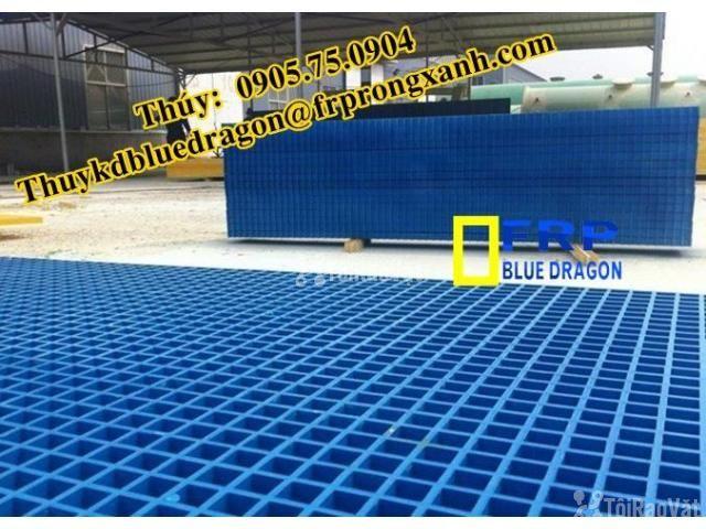 Sàn frp grating kháng hóa chất, sàn ô lưới loại isophthalic, vinyl - 6/6