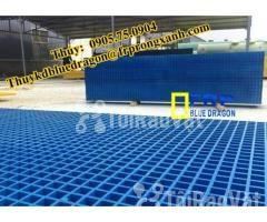 Sàn frp grating kháng hóa chất, sàn ô lưới loại isophthalic, vinyl - Hình ảnh 6/6