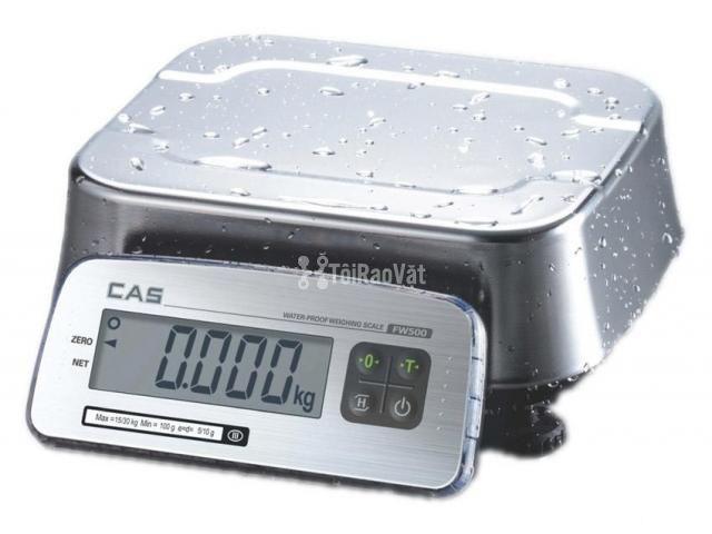 Cân điện tử chống nước FW500 Cas Hàn Quốc - 1/1