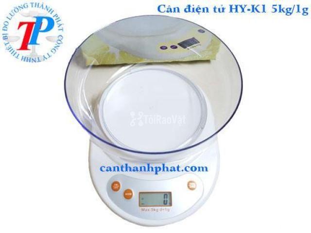 Cân điện tử HY-K1 Haoyu Đài Loan, 5kg/1g - 1/1