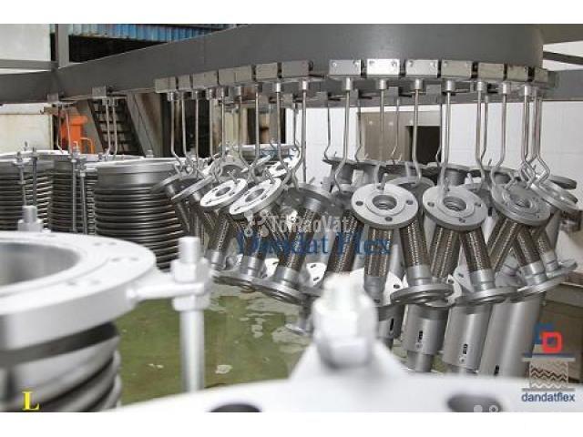 Ống mềm chống rung inox 304, khớp nối chống rung, khop chong rung inox - 4/6