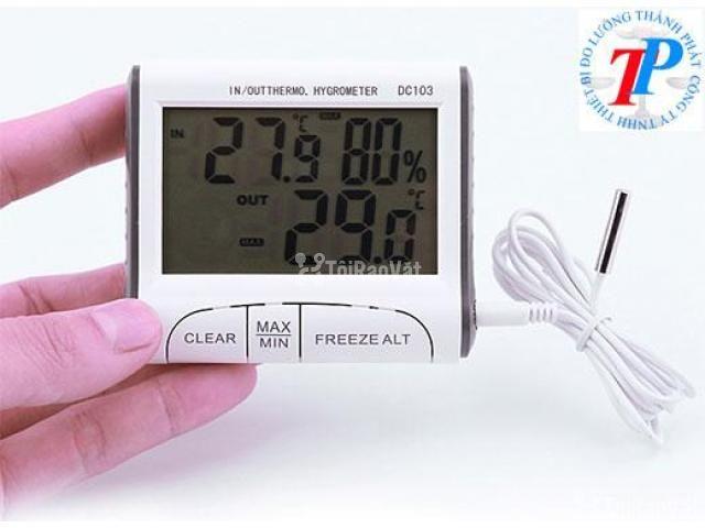 Nhiệt ẩm kế điện tử DC103, BH 12 tháng - 1/1