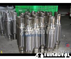 Ống bô xả máy phát điện, ống bô inox, bô zin chống rung inox - Hình ảnh 2/6