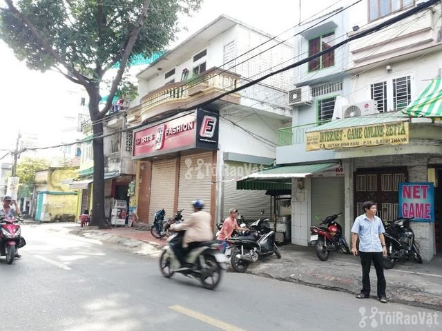 Cho thuê nhà Góc 2MT số 5 Huỳnh Đình Hai, Phường 14, Quận Bình Thạnh.  - 2/6