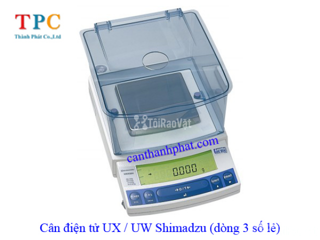 Cân điện tử UX-620H Shimdazu, cân tiểu ly Shimadzu 620g/0.001g - 1/1