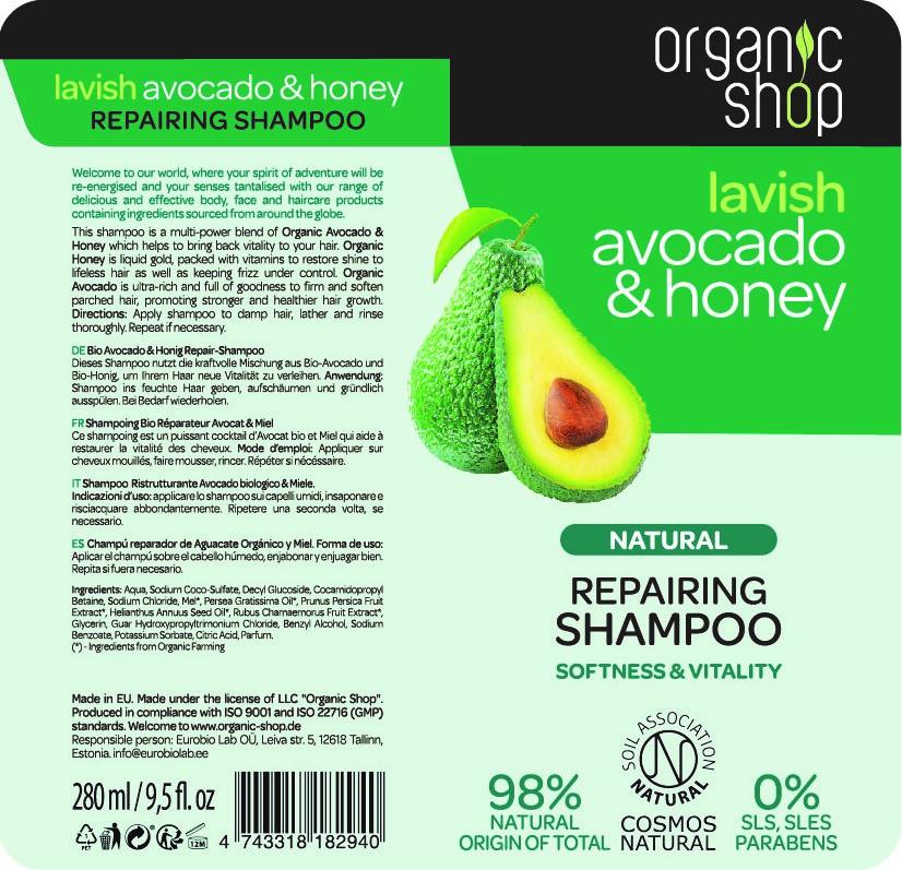 Avocado   Honey -shampoo 280 ml edullisesti Tokmannilta daf38e6a26
