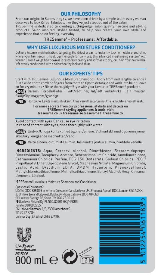 Hoitoaine 900 ml Luxurious Moisture edullisesti Tokmannilta eff21b26d5