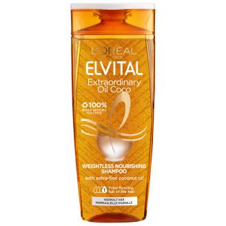 Loreal Elvital Shampoo 250 ml Extraordinary Oil Coconut normaaleille  hiuksille 7d5381719a