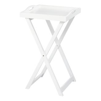 Tarjoilupöytä 38 x 38 x 66 cm valkoinen -tuotteet edullisesti ...
