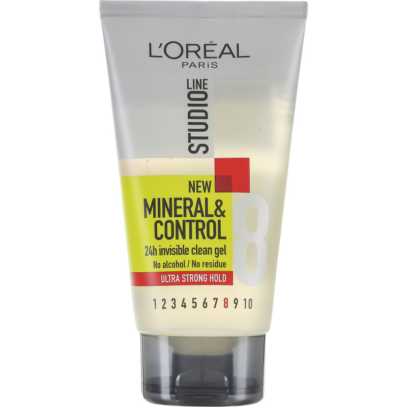 Muotoilugeeli 150 ml Mineral   Control Invisible Clean Gel ... 2c6895b639