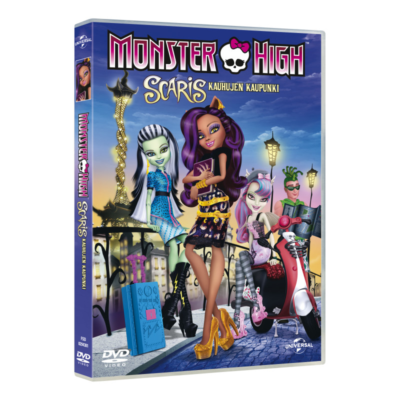 DVD Monster High Scaris edullisesti Tokmannilta 49ab466bb4