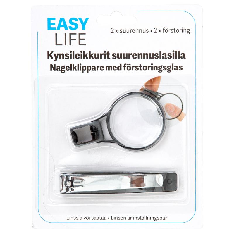 Kynsileikkurit suurennuslasilla edullisesti Tokmannilta b5ba793aa8