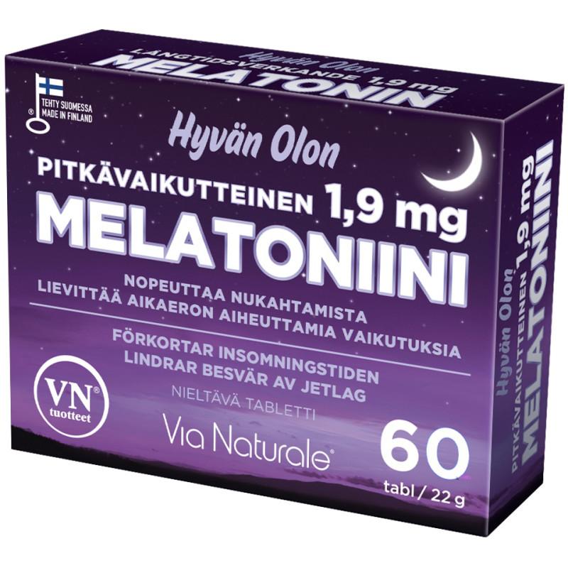 Melatoniini Tokmanni