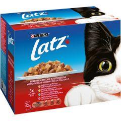 Kissanruoka 12x100g Herkkulajitelma kastike