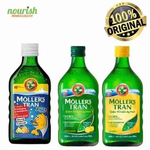 Moller's Tran Cod Liver Oil 250ml (Minyak Hati Ikan Cod) - Original
