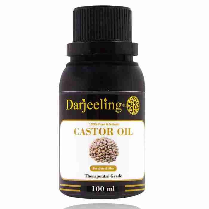 100ml Castor Oil 100% Murni   Minyak Jarak Carrier Oil