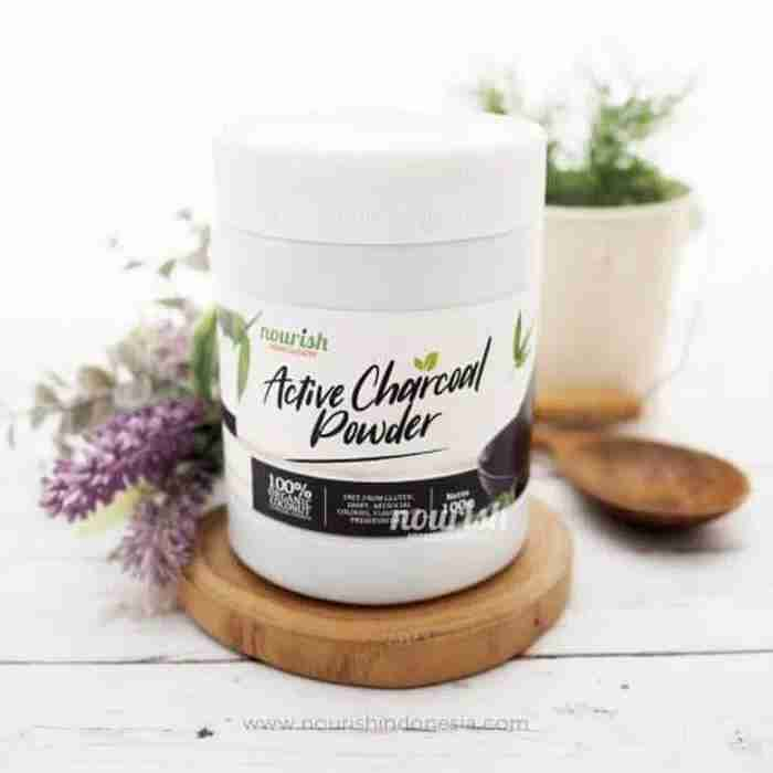 Activated Charcoal Powder (Bubuk Arang Aktif) 100 g