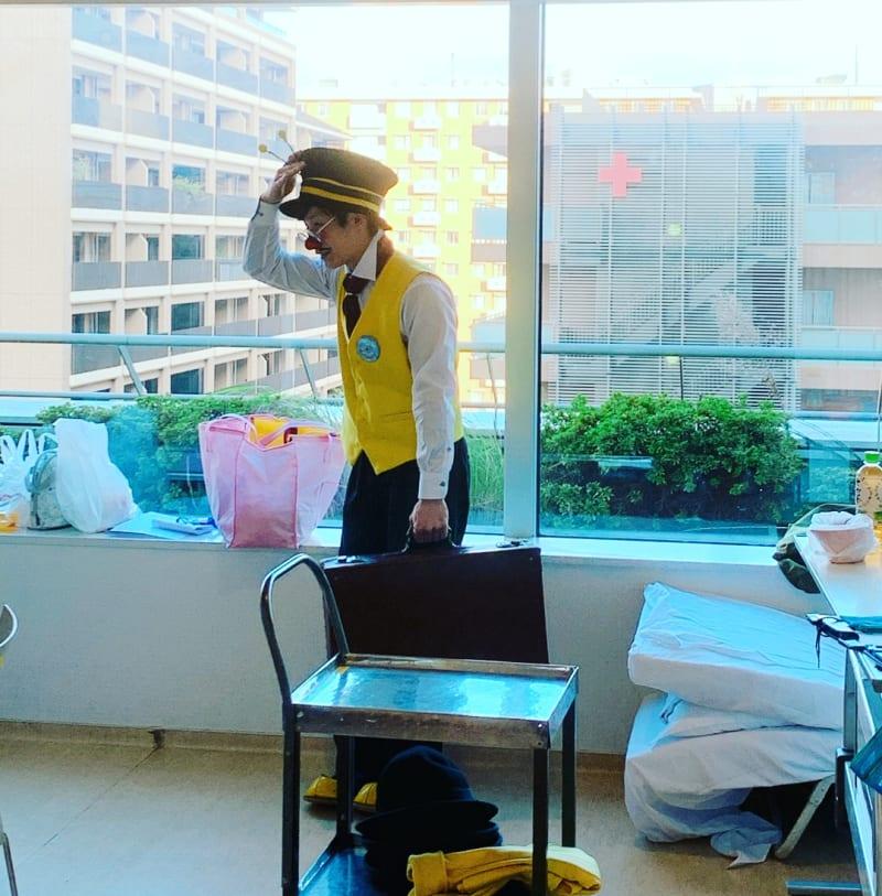 11月25日(月)都内某小児病棟にてパフォーマンスさせて頂きました。