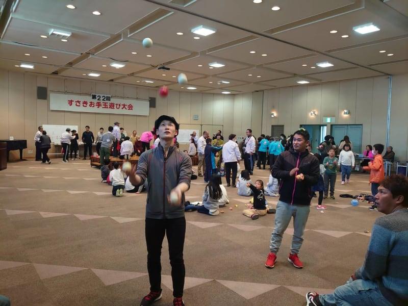 2020.2.23 第22回すさきお手玉遊び大会