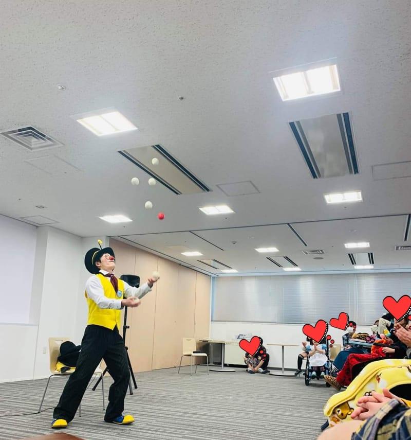 2019.12.8 茨城県某病院にてクリスマス会出演。