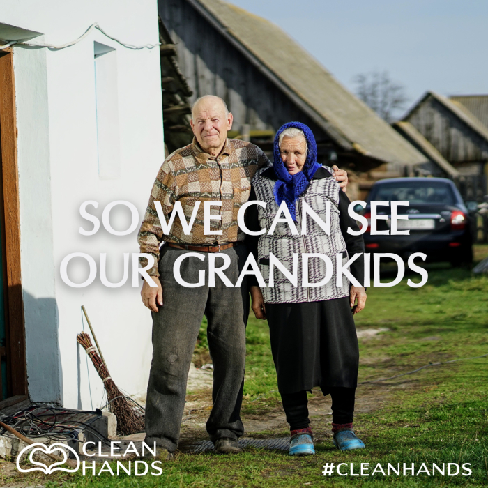 An image of Clean Hands Campaign