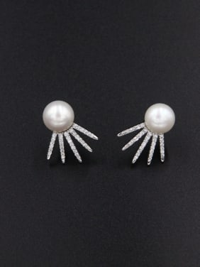 Model No LYE-307362B Fashion Platinum Plated Studs stud Earring