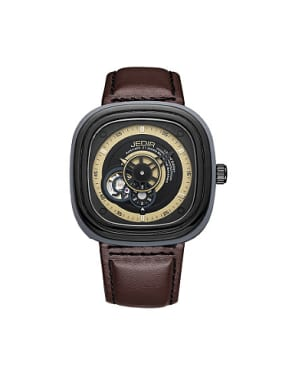 JEDIR Brand Fashion Square Mechanical Watch