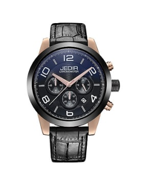 JEDIR Brand Chronograph Mechanical Watch
