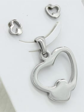 Heart-shaped Stainless Steel Set