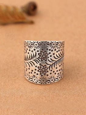 Thai style Handmade Silver Ring