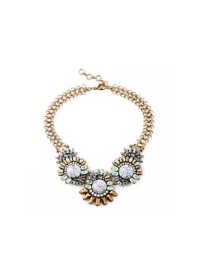 Western style Artificial Stones Women Necklace
