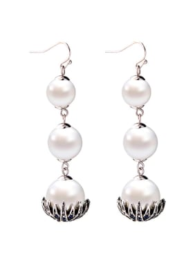 Elegant and Temperaments Western Style Women Drop Earrings