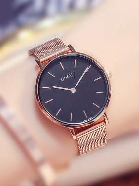 GUOU Brand Simple Mechanical Watch