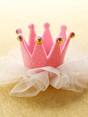 Crown Princess Hair with mini hat