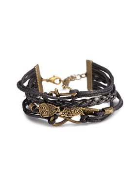 Retro Multi-layer Owls Women Bracelet