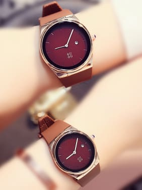 GUOU Brand Sporty Lovers Watch