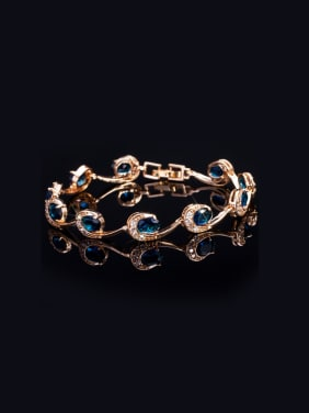 Wave Shaped Fashion Bracelet