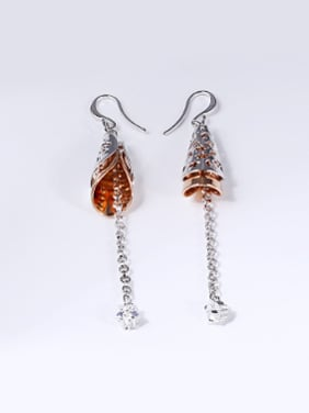 Retro style Tassels Drop Earrings