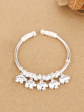 2018 Personalized Little Elephants Opening Bangle