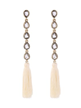 Long Tassel Women Drop Chandelier earring
