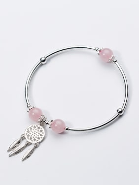 925 Sterling Silver With Silver Plated Cute Bracelets