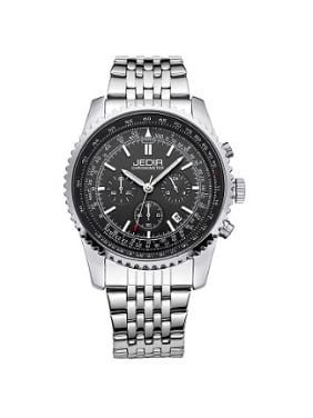 JEDIR Brand Fashion Business Chronograph Watch
