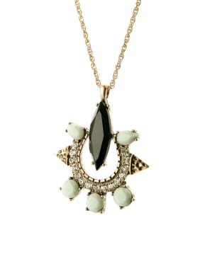 Fashion Stones Alloy Necklace