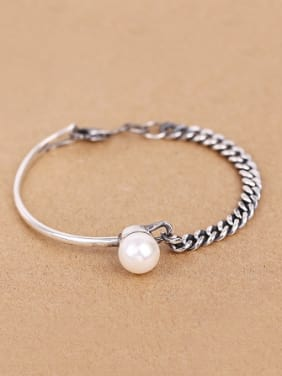 Personalized Retro Freshwater Pearl Bracelet