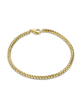 Exquisite 18K Gold Plated Geometric Shaped Bracelet