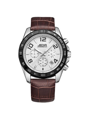 2018 JEDIR Brand Chronograph Mechanical Watch